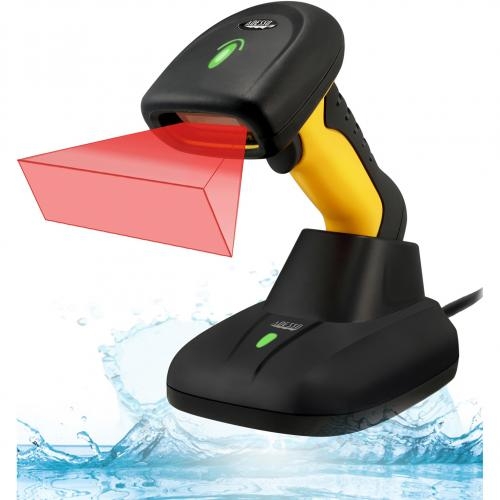 Adesso NuScan 5200TR   2.4GHz RF Wireless Antimicrobial & Waterproof 2D Barcode Scanner Alternate-Image3/500