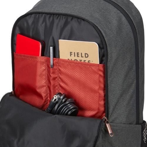 """Case Logic Era 3203697 Carrying Case (Backpack) For 16"""" Notebook   Black Alternate-Image3/500"""
