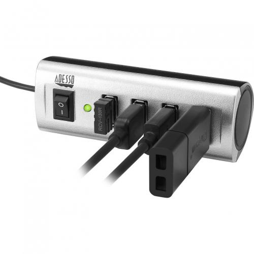 Adesso AUH 2040   4 Port USB 2.0 Hub Alternate-Image3/500