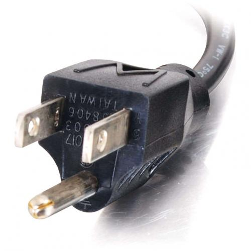 C2G 6ft 18 AWG Universal Right Angle Power Cord (NEMA 5 15P To IEC320C13R) Alternate-Image3/500