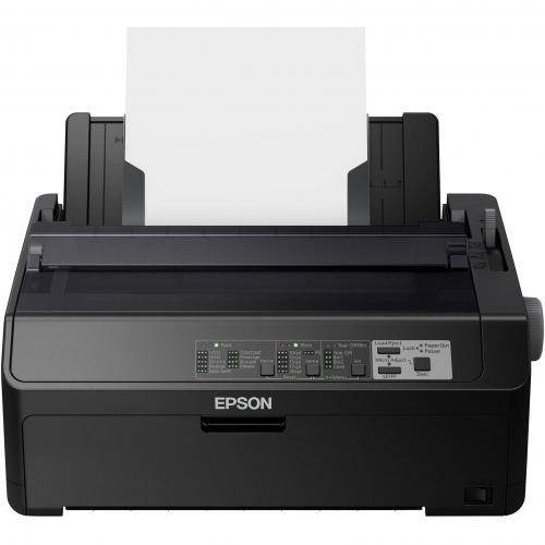Epson LQ 590II 24 Pin Dot Matrix Printer   Monochrome   Energy Star Alternate-Image3/500