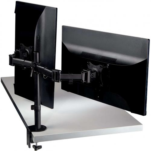 3M Clamp Mount For Monitor   Black Alternate-Image3/500