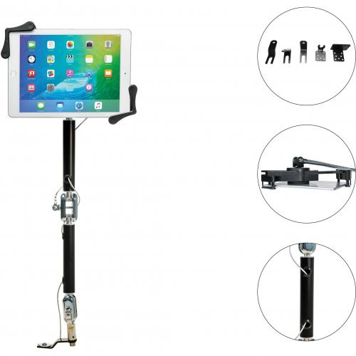 CTA Digital Multi Flex Vehicle Mount For Tablet, IPad Pro, IPad Air, IPad Mini Alternate-Image3/500
