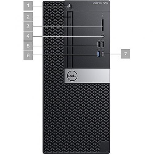 OPTI 7060 MT DT I7/3.2 16GB 256GB W10 Alternate-Image3/500
