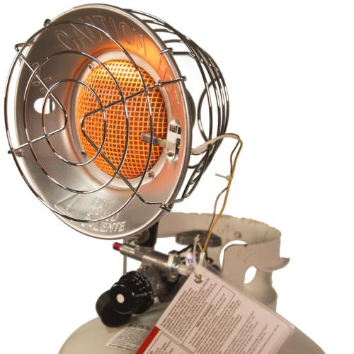 DuraHeat TT 15CSA Propane(LP) Tank Top Heater With Tip Over Shut Off Alternate-Image3/500