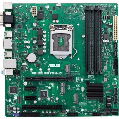 Asus Prime Q370M C/CSM Desktop Motherboard   Intel Chipset   Socket H4 LGA 1151   Intel Optane Memory Ready   Micro ATX Alternate-Image3/500