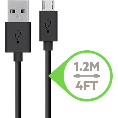 Belkin Universal Home Charger With Micro USB ChargeSync Cable (12 Watt/ 2.4 Amp) Alternate-Image3/500