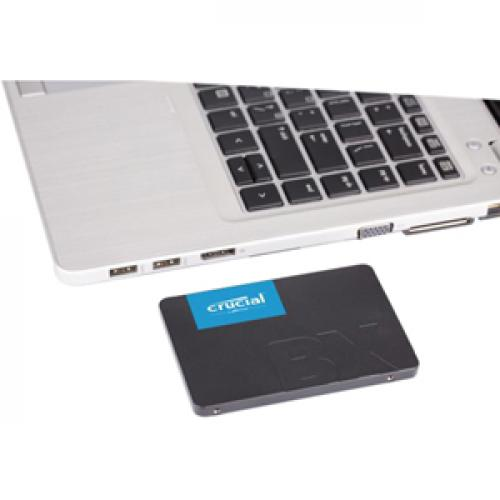 "Crucial BX500 240 GB Solid State Drive   2.5"" Internal   SATA (SATA/600) Alternate-Image3/500"