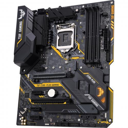 TUF Z390 PLUS GAMING (Wi Fi) Desktop Motherboard   Intel Chipset   Socket H4 LGA 1151 Alternate-Image3/500