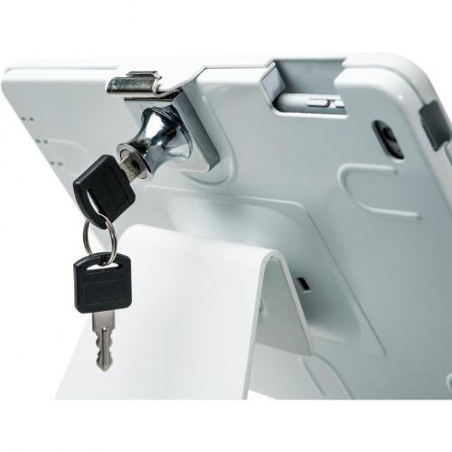 CTA Digital Desk Mount For IPad, IPad Air, IPad Pro   White Alternate-Image3/500