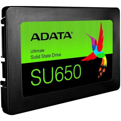 "Adata Ultimate SU650 ASU650SS 120GT R 120 GB Solid State Drive   2.5"" Internal   SATA (SATA/600)   Black Alternate-Image3/500"