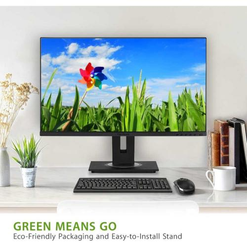 "Viewsonic VG2755 27"" Full HD WLED LCD Monitor   16:9   Black Alternate-Image3/500"