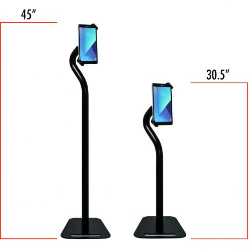CTA Digital Premium Security Swan Neck Stand For 7 14 Inch Tablets Alternate-Image3/500