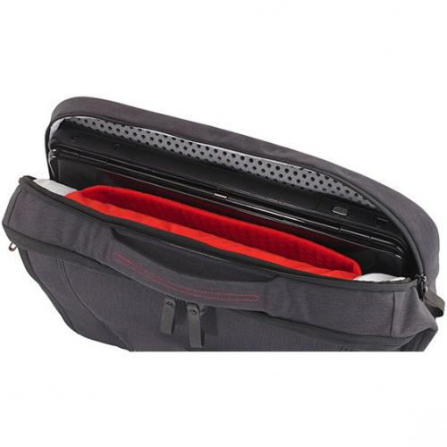 "Mobile Edge Elite Carrying Case (Backpack) For 17.3"" Dell Notebook   Black, Gray Alternate-Image3/500"