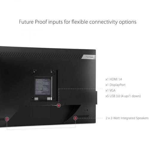 "Viewsonic VG2448 H2 24"" Full HD WLED LCD Monitor   16:9 Alternate-Image3/500"