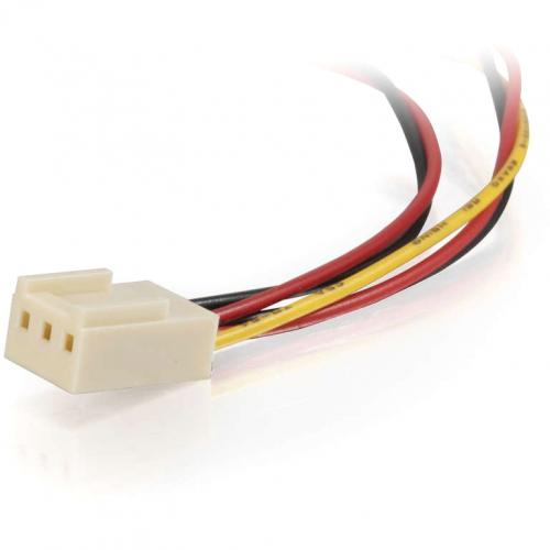 C2G 4in 3 Pin Fan Power Y Cable Alternate-Image3/500