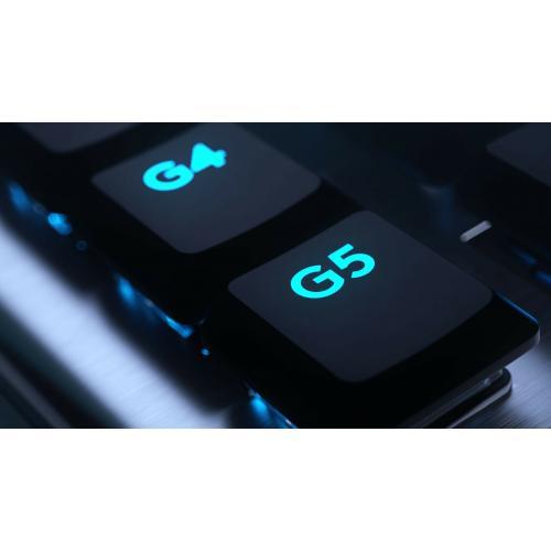 Logitech G915 Lightspeed Wireless RGB Mechanical Gaming Keyboard Alternate-Image3/500