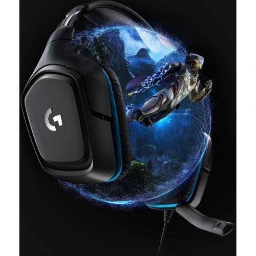 Logitech G432 7.1 Surround Sound Gaming Headset Alternate-Image3/500