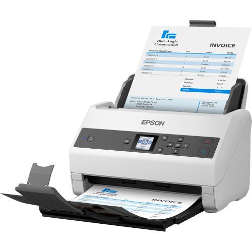 Epson WorkForce DS 970 Sheetfed Scanner   600 Dpi Optical Alternate-Image3/500