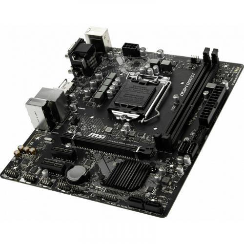MSI H310M PRO VDH PLUS Gaming Motherboard     Intel Chipset   Socket H4 LGA 1151   32GB DDR4   X Boost   Ez Debug LED Alternate-Image3/500