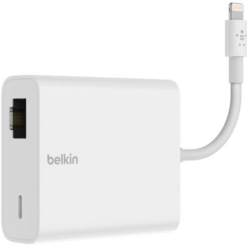 Belkin Ethernet + Power Adapter With Lightning Connector Alternate-Image3/500