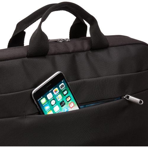 "Case Logic Advantage ADVA 116 BLACK Carrying Case (Attaché) For 10"" To 16"" Notebook   Black Alternate-Image3/500"