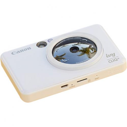 Canon IVY CLIQ+ Instant Digital Camera   Pearl White Alternate-Image3/500