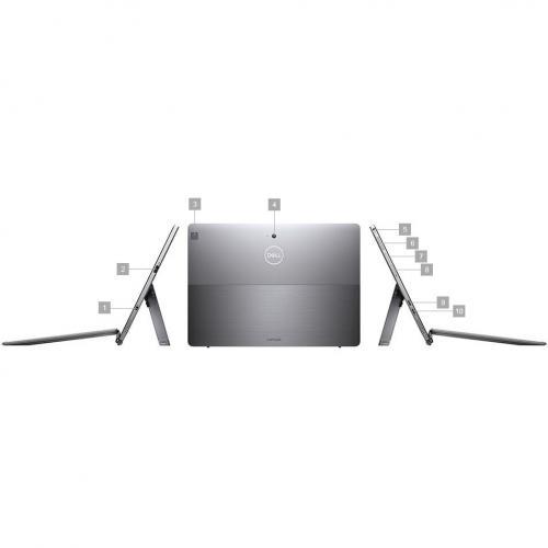"Dell Latitude 7000 7200 Tablet   12.3""   8 GB RAM   256 GB SSD   Windows 10 Pro 64 Bit Alternate-Image3/500"