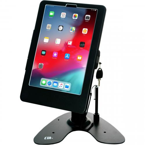 CTA Digital Dual Security Kiosk Stand For 11 Inch IPad Pro Alternate-Image3/500