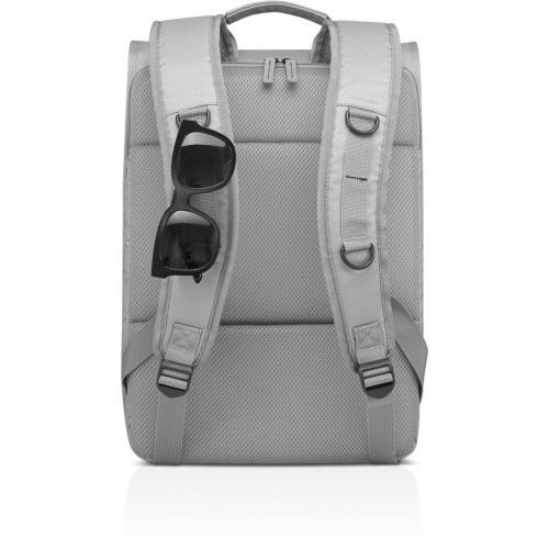 """Lenovo Carrying Case (Backpack) For 15.6"""" Lenovo Notebook   Gray Alternate-Image3/500"""