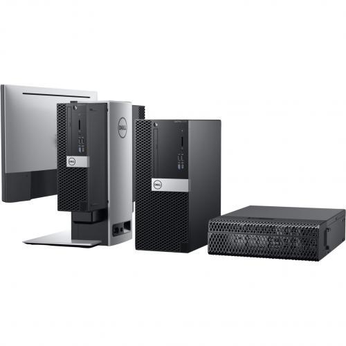 Dell OptiPlex 5000 5070 Desktop Computer   Core I7 I7 9700   8 GB RAM   256 GB SSD   Small Form Factor Alternate-Image3/500