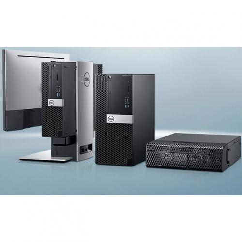 Dell OptiPlex 7000 7070 Desktop Computer   Intel Core I5 9th Gen I5 9500 3 GHz   8 GB RAM DDR4 SDRAM   256 GB SSD   Small Form Factor Alternate-Image3/500