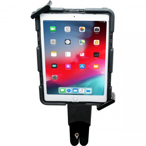 CTA Digital WorkSpace Desktop/Wall Mount For IPad (7th Generation), IPad Mini, IPad Air, IPad Pro, IPad (6th Generation), Tablet   Black Alternate-Image3/500