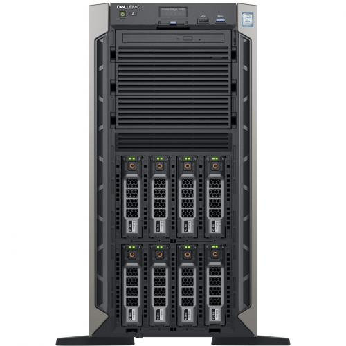 Dell EMC PowerEdge T440 5U Tower Server   2 X Xeon Silver 4208   32 GB RAM   1 TB (1 X 1 TB) HDD   12Gb/s SAS, Serial ATA/600 Controller Alternate-Image3/500