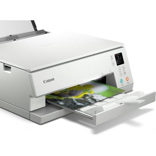 Canon PIXMA TS TS6320 White Inkjet Multifunction Printer   Color Alternate-Image3/500