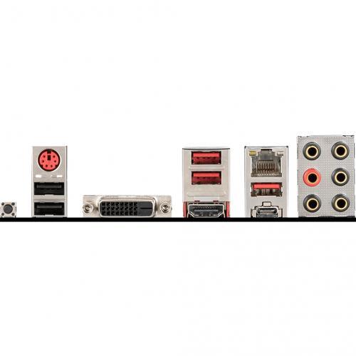 MSI B450 TOMAHAWK MAX Desktop Motherboard   AMD Chipset   Socket AM4   ATX Alternate-Image3/500