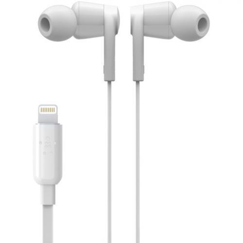 Belkin ROCKSTAR Headphones With Lightning Connector Alternate-Image3/500