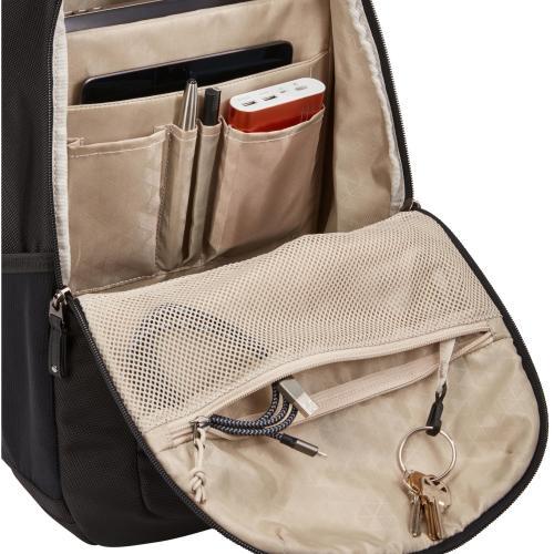 "Case Logic Notion Carrying Case (Backpack) For 14"" Notebook   Black Alternate-Image3/500"