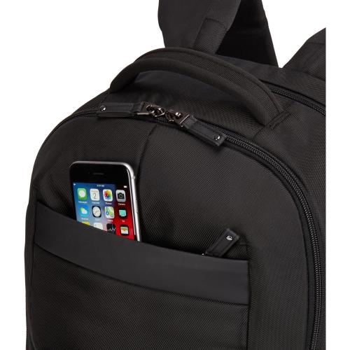 "Case Logic Notion Carrying Case (Backpack) For 15.6"" Notebook   Black Alternate-Image3/500"