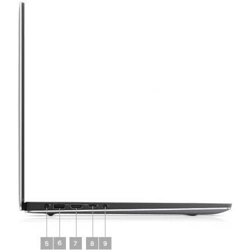 """Dell Precision 5000 5540 15.6"""" Mobile Workstation   1920 X 1080   Intel Core I7 (9th Gen) I7 9850H Hexa Core (6 Core) 2.60 GHz   16 GB RAM   512 GB SSD   Titan Gray Alternate-Image3/500"""