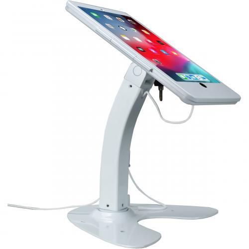 CTA Digital Desk Mount For IPad, IPad Air, IPad Pro, Card Reader   White Alternate-Image3/500