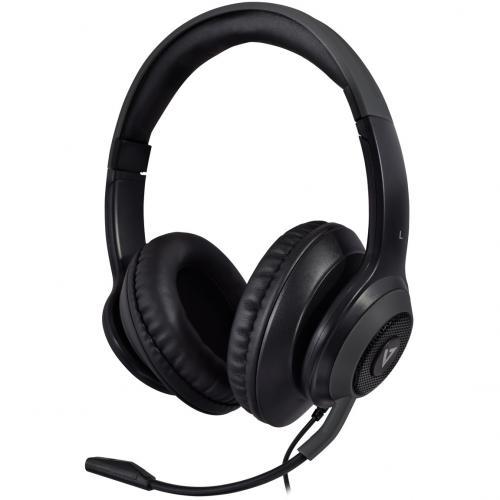 V7 Premium Over Ear Stereo Headset With Boom Mic Alternate-Image3/500