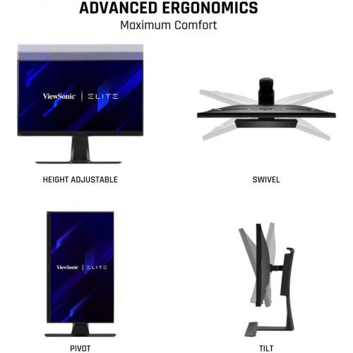 """Viewsonic Elite XG270QG 27"""" WQHD LED Gaming LCD Monitor   16:9 Alternate-Image3/500"""