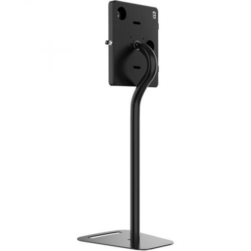 CTA Digital Premium Height Adjustable Floor To Desk Security Kiosk For Tablets Alternate-Image3/500
