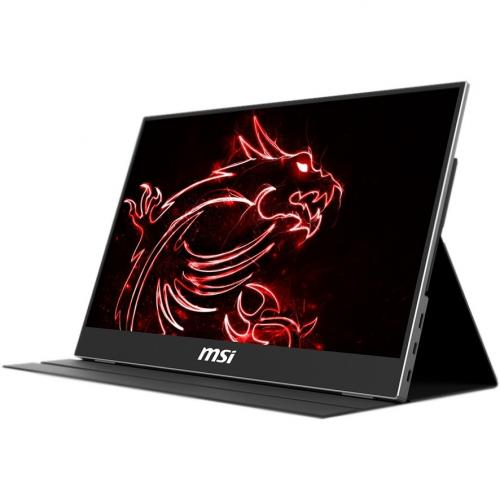 """MSI Optix MAG161V 15.6"""" Full HD LCD Portable Monitor   1920 X 1080 Full HD Display @ 60Hz   In Plane Switching (IPS) Technology   Only Weighs 2 Lbs For Portability   Designed For Gamers & Professionals   USB Type C & HDMI Connections Alternate-Image3/500"""