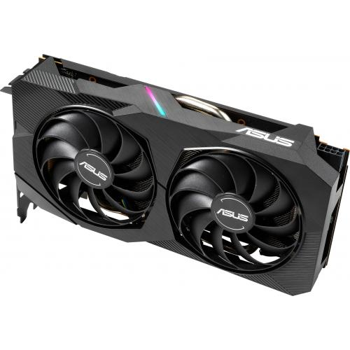 Asus Dual DUAL RX5500XT O8G EVO Radeon RX 5500 XT Graphic Card   8 GB GDDR6 Alternate-Image3/500