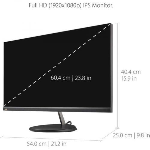 "Viewsonic VX2485 MHU 23.8"" Full HD LED LCD Monitor   16:9 Alternate-Image3/500"