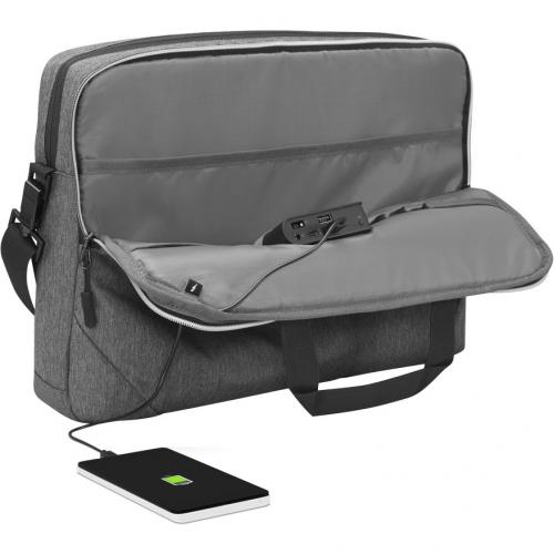 """Lenovo Carrying Case For 15.6"""" Notebook   Charcoal Gray Alternate-Image3/500"""
