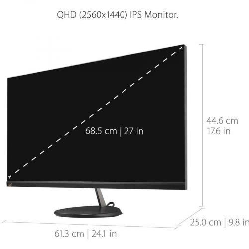 "Viewsonic VX2785 2K MHDU 27"" WQHD LED LCD Monitor   16:9 Alternate-Image3/500"
