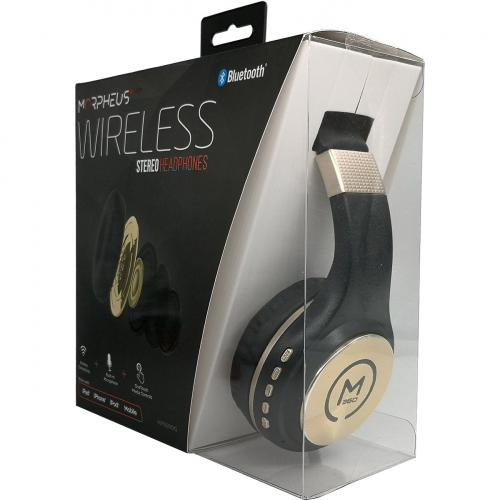 Morpheus 360 Serenity Wireless Over The Ear Headphones   Bluetooth 5.0 Headset With Microphone   HP5500G Alternate-Image3/500